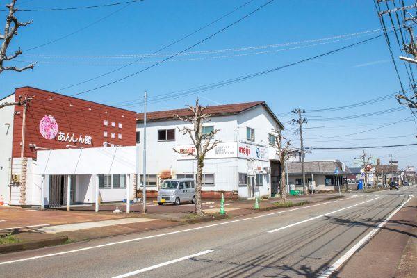 長岡駅方面